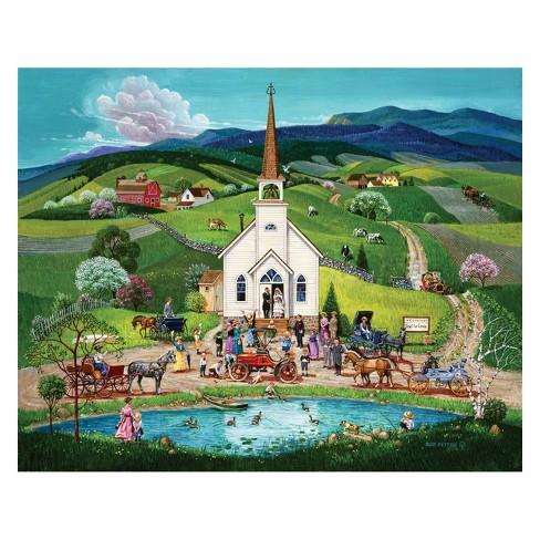 Springbok Spring Wedding Puzzle 1000pc - image 1 of 2