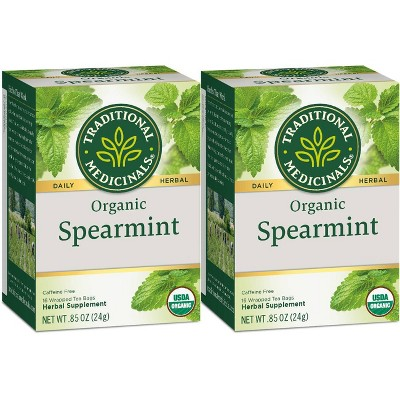 Traditional Medicinals Spearmint Organic Tea - 32ct