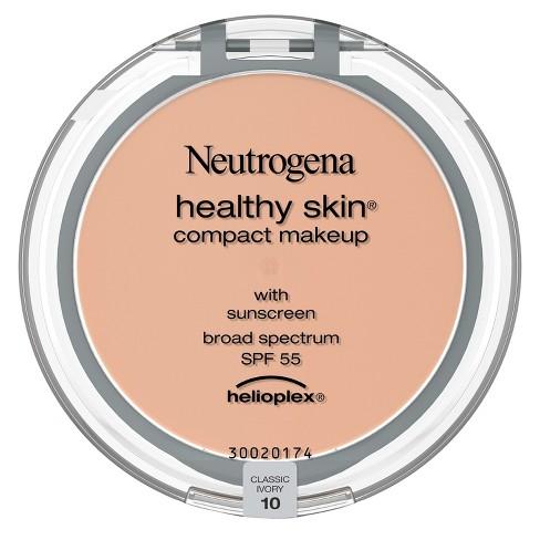 Neutrogena Healthy Skin Compact Makeup Broad Spectrum SPF 55 - Light Shades - 1.6oz - image 1 of 4