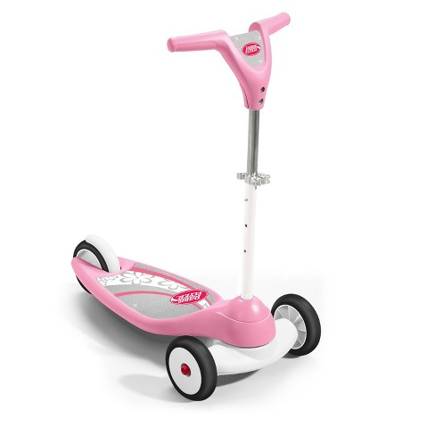 Radio Flyer Grow with Me My 1st 3 Wheel Scooter - Pink Sparkle - image 1 of 4