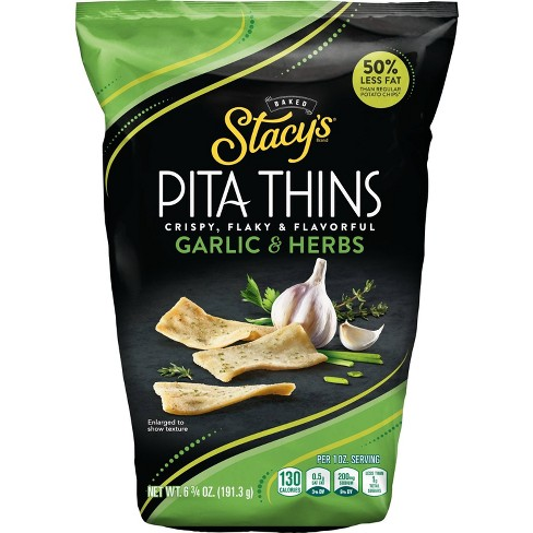 Stacys Pita Chips Garlic And Herbs - 6.75oz - image 1 of 3