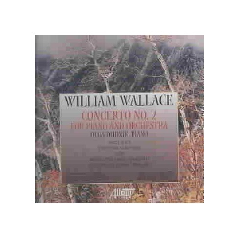 Olga Dudnik - Wallace: Concerto No. 2 for Piano and Orchestra (CD) - image 1 of 1