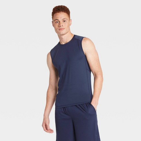 Men's Sleeveless Fitted Muscle T-Shirt - All in Motion™ - image 1 of 4
