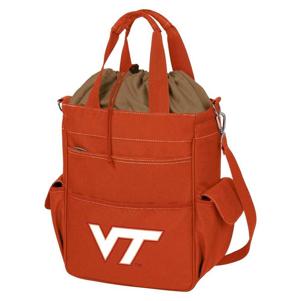 Cooler NCAA 1039cuin Virginia Tech Hokies Orange Sorbet