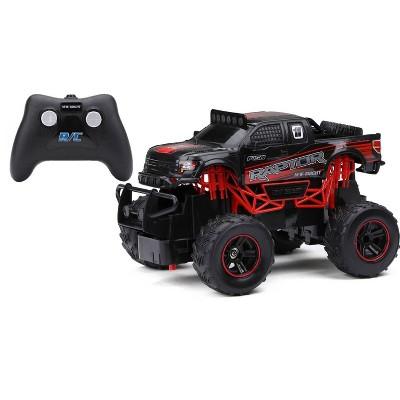 New Bright 1:24 R/C FF Truck - Raptor Black