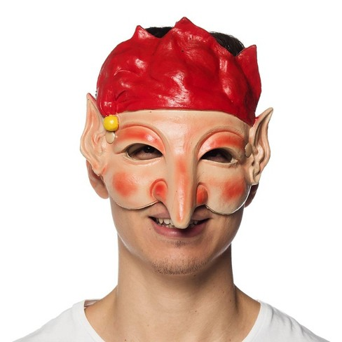 HMS Supersoft Elf Adult Costume Mask - image 1 of 1
