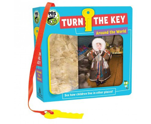 Turn the Key : Around the World (Hardcover) (Julie Merberg) - image 1 of 1