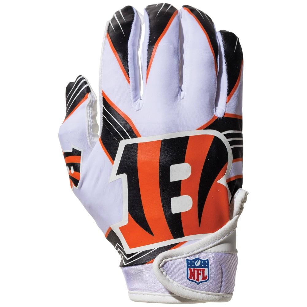 Cincinnati Bengals Kids' Receiver Gloves - M