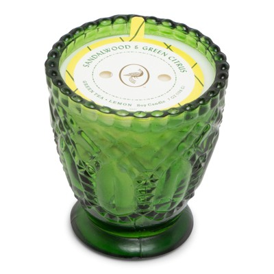 7oz Glass Jar Candle Sandalwood & Green Citrus - Fruit Collection - Opalhouse™