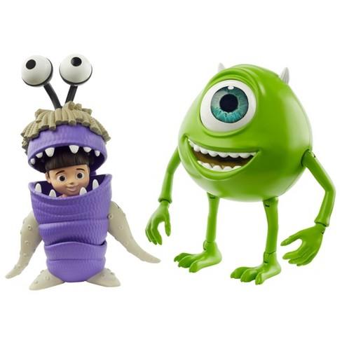 Disney Pixar Monsters Inc Mike Wazowski Boo Figures Target