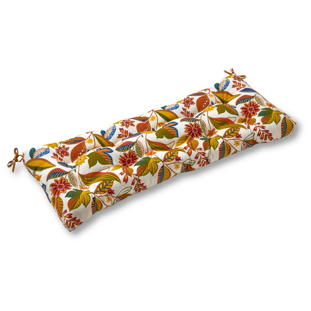 Image of Esprit Floral Outdoor Swing and Bench Cushion - Greendale Home Fashions