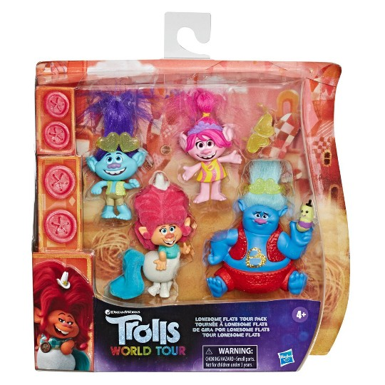 Trolls World Tour Lonesome Flats Mini Figure Collection Pack image number null
