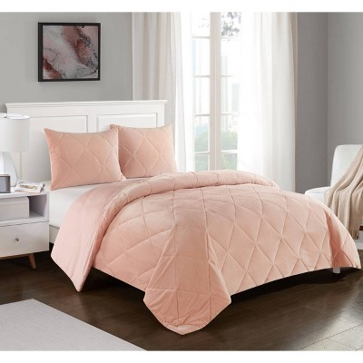 Cloud Fill Comforter Set Pink - Heritage Club