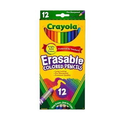 Crayola Erasable Colored Pencils 12ct
