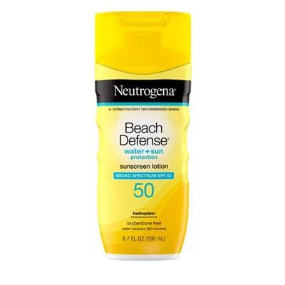 Neutrogena Beach Defense Lotion - SPF 50 - 6.7 fl oz