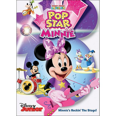 Mickey Mouse Clubhouse Pop Star Minnie Dvd Target
