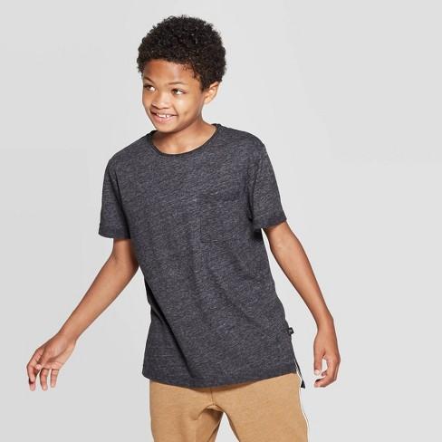 Boys' Short Sleeve Raw Edge T-Shirt - art class™ - image 1 of 3