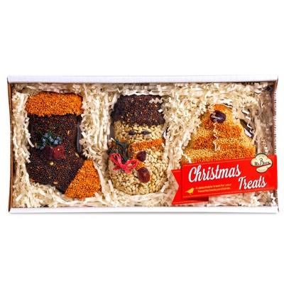 "Home & Garden 4.0"" Christmas Seed Treats Stocking Tree Snowman Mr Bird  -  Bird And Wildlife Food"