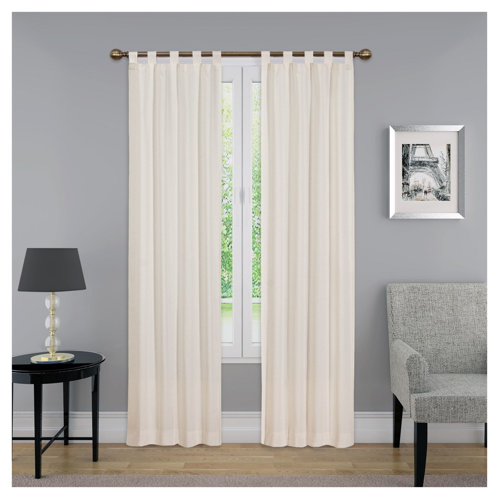 Curtain Panels Solid Beige 30