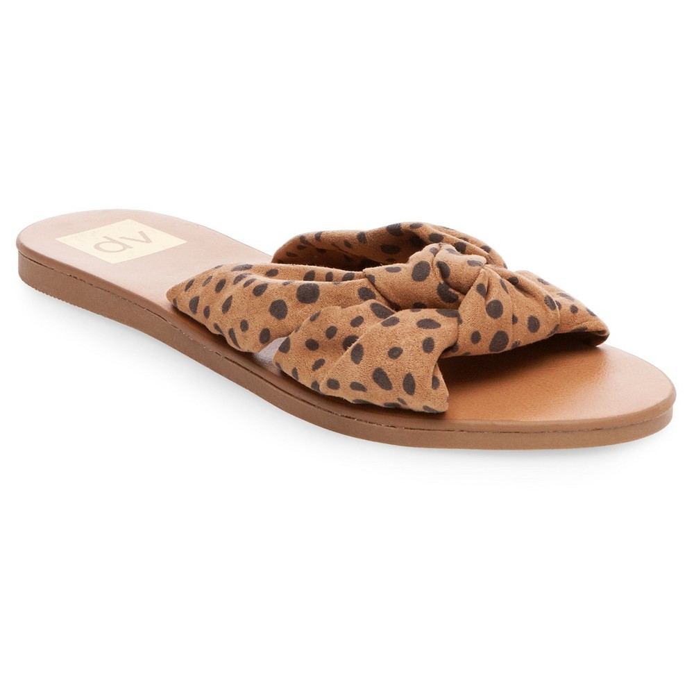 Women's dv Alina Knotted Slide Sandals - 9.5, Brown