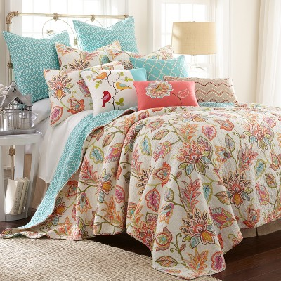 Sophia Quilt and Pillow Sham Set - Levtex Home