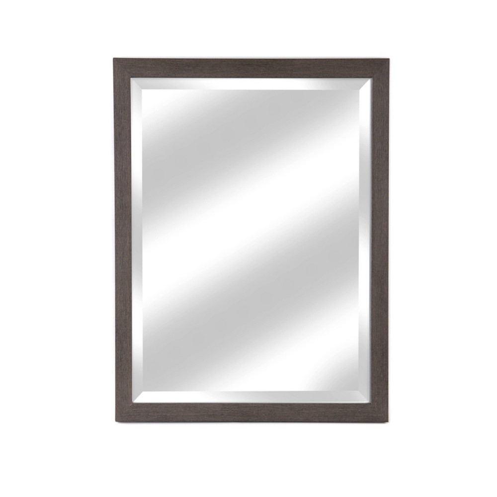 """Image of """"27"""""""" X 33"""""""" Framed Beveled Glass Wall Mirror Harbour Gray - Alpine Art & Mirror"""""""