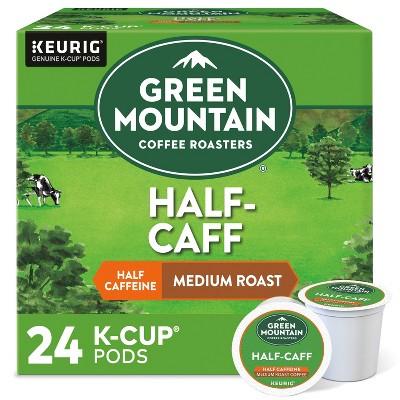 Green Mountain Coffee Half-Caff Keurig K-Cup Coffee Pods - Medium Roast - 24ct