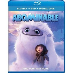 Abominable (Blu-Ray + DVD + Digital)
