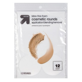 Latex Free Cosmetic Rounds - 12ct - Up&Up™