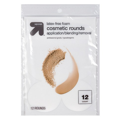 Latex Free Cosmetic Rounds - 12ct - up & up™ - image 1 of 1