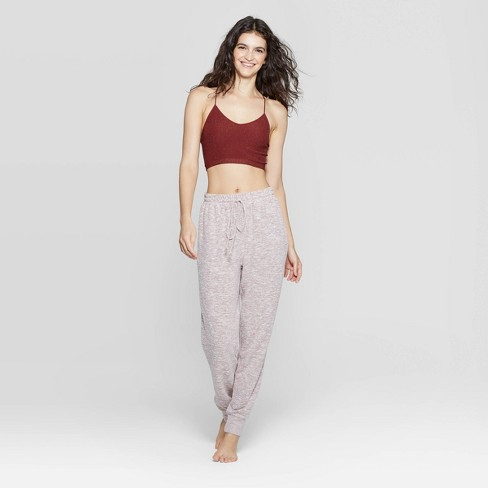 where can i buy attractive & durable hot-selling cheap Women's Cozy Lounge Jogger Pajama Pants - Colsie™ Blush S