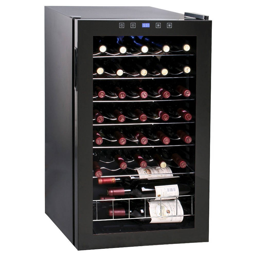 Vinotemp 34 Bottle Touch Screen Cooler – Black VT-34 TS 50026805