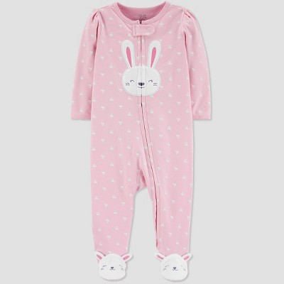 Baby Girls' Bunny Sleep N' Play - Just One You® made by carter's Pink Newborn