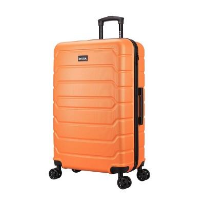 "InUSA Trend 28"" Lightweight Hardside Spinner Suitcase - Orange"