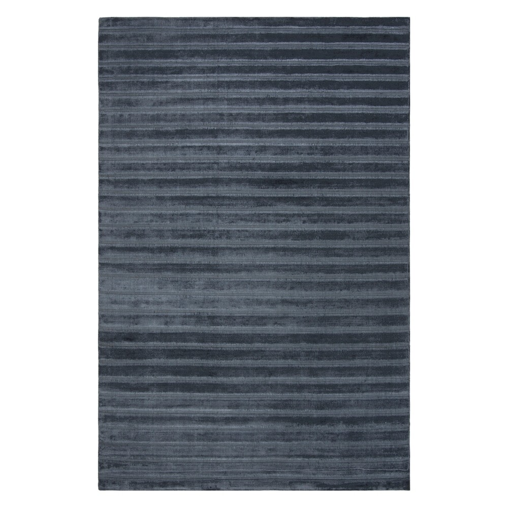 9'X12' Solid Area Rug Navy/Blue (Blue/Blue) - Safavieh