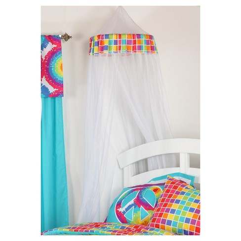 "One Grace Place Terrific Tie Dye Canopy (18""x80""x122"") - image 1 of 4"