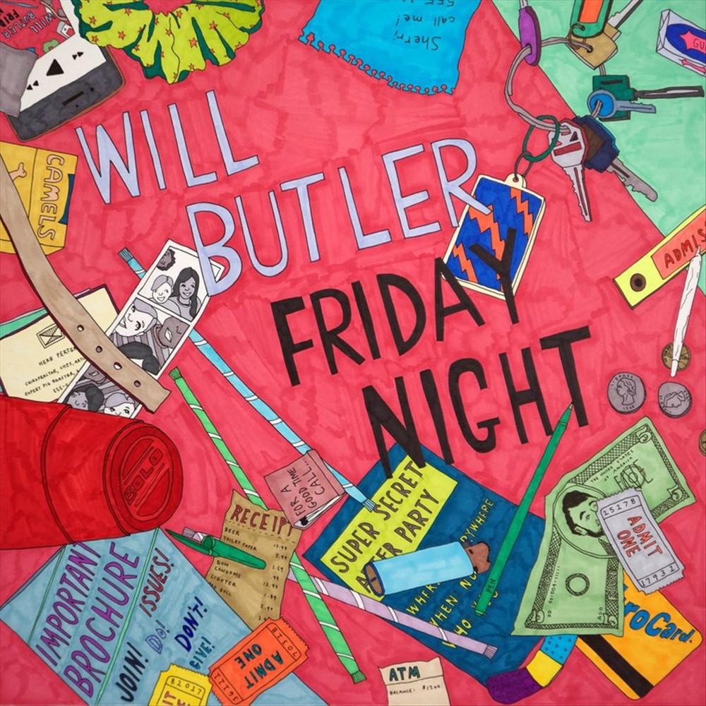 Will Butler - Friday Night (CD)