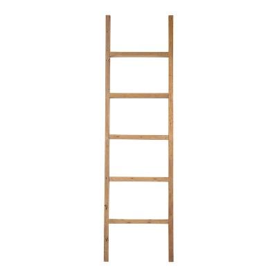 Darla Teak Decorative Ladder Brown - East At Main