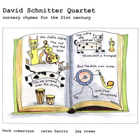 David schnitter - Nursery rhymes for the 21st century (CD) - image 1 of 1