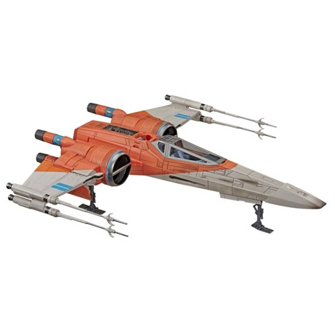 Star Wars The Vintage Collection Poe Dameron S X Wing Fighter Toy Vehicle Target