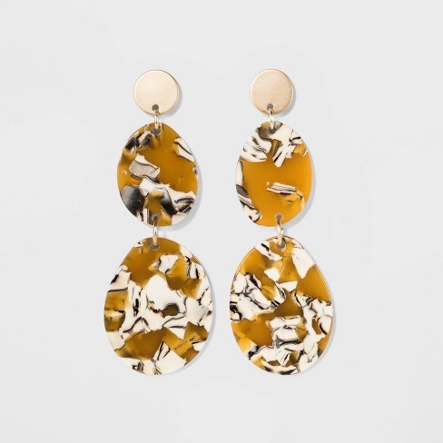 Discs Earrings - A New Day™ Gold - image 1 of 3