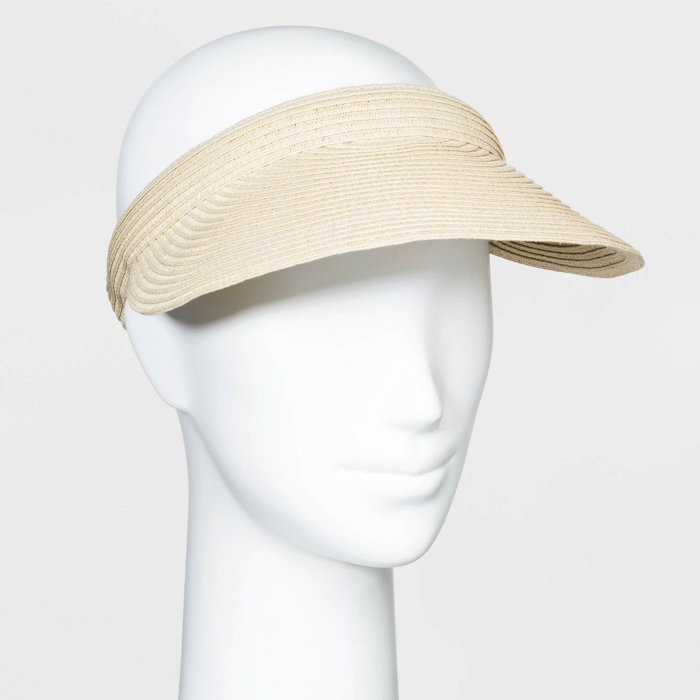 Women's Vintage Hats | Old Fashioned Hats | Retro Hats Women39 traw Vior Hat -  A New Day8482 Natural $7.99 AT vintagedancer.com