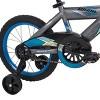 "Huffy Whirl 16"" Kids' Bike - Gray/Blue - image 2 of 4"