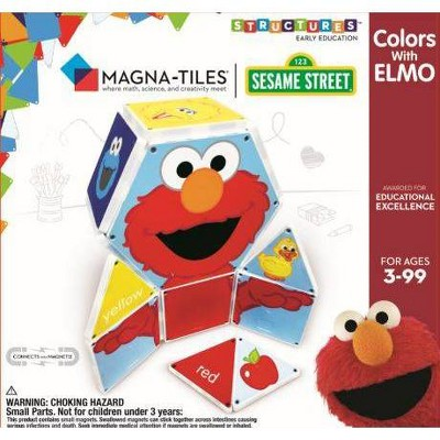 Magna-Tiles Sesame Street - Colors with Elmo