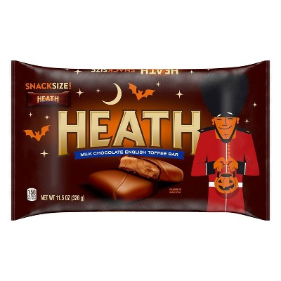 Heath Halloween Snack Size Toffee Bars Bag - 11.5oz