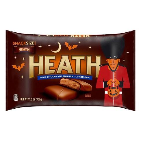 Heath Halloween Snack Size Toffee Bars Bag - 11.5oz - image 1 of 4