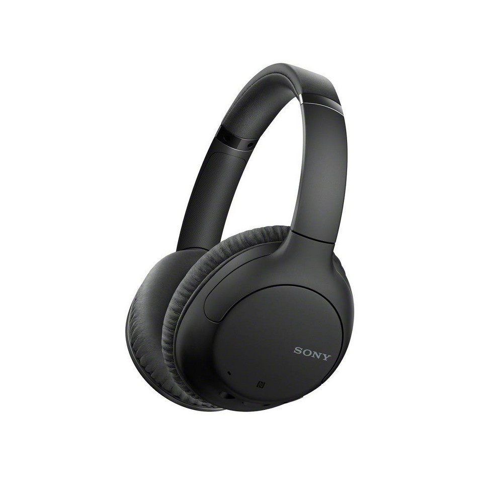 Sony Whch710n Noise Cancelling Wireless Over Ear Headphones Black