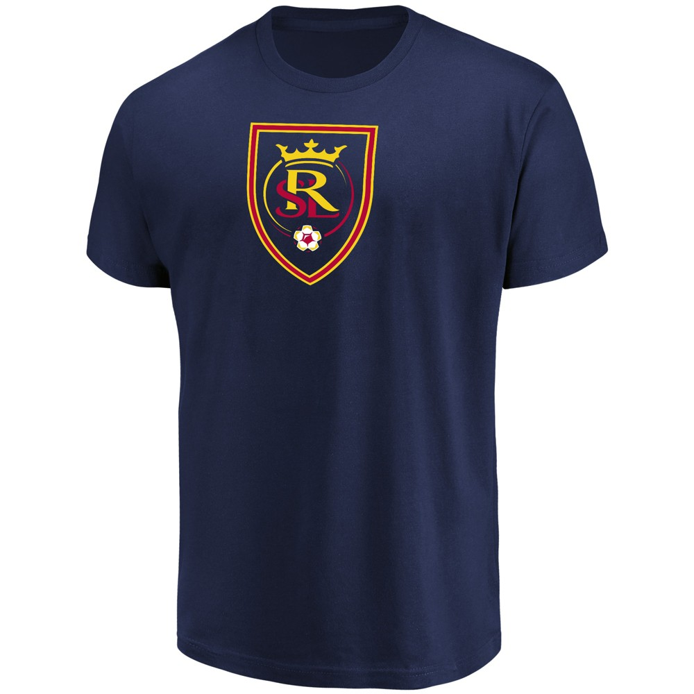 Mls Men's Short Sleeve Top Ranking Core T-Shirt Real Salt Lake - S, Multicolored