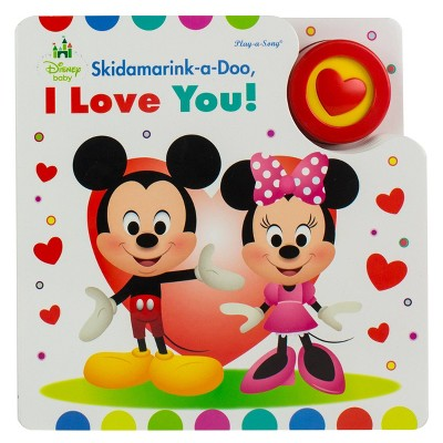 Disney Baby - (Play-A-Song)by P I Kids (Board Book)