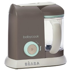 Beaba Babycook Food Blender And Steamer - Latte Mint